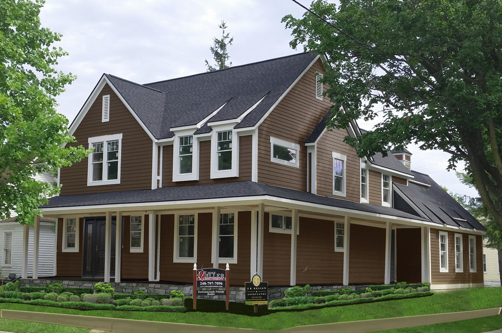 Northville new construction info the northville realtor for Home building companies in michigan